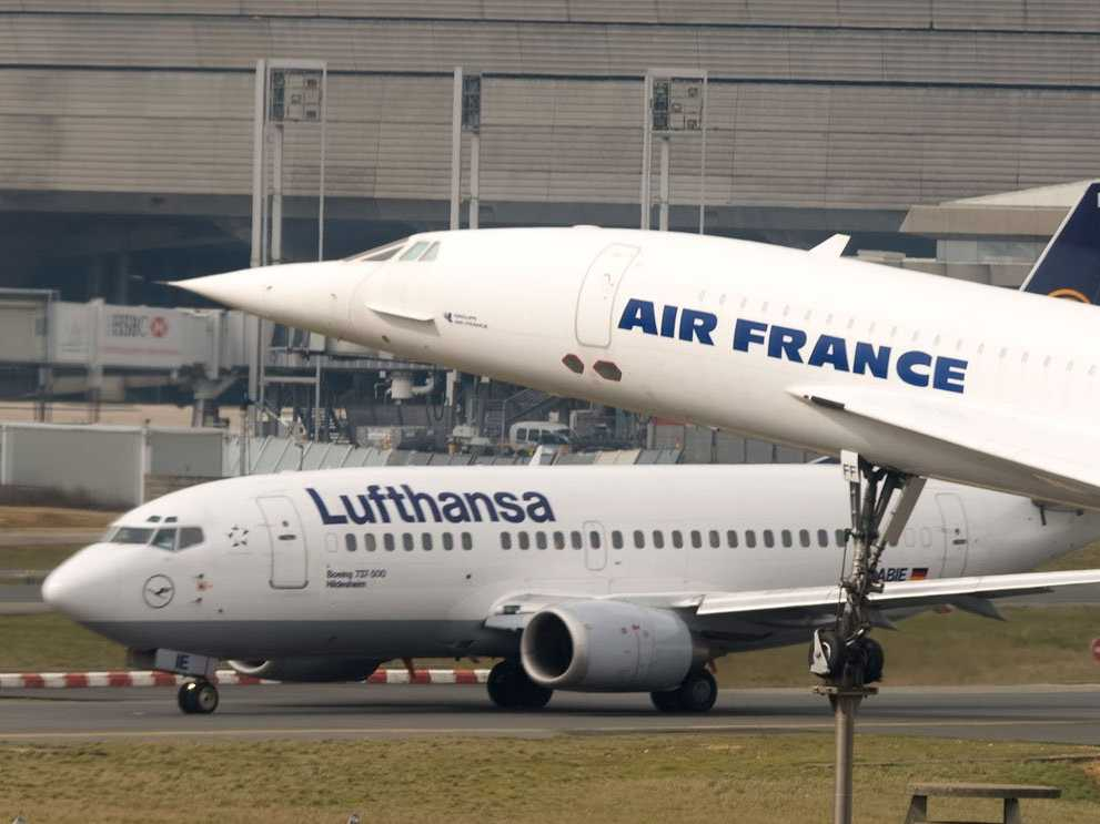 Travel strikes ground lufthansa and air france flights fandeluxe Images
